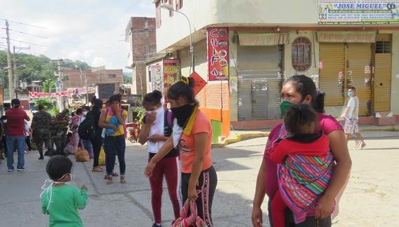 Muchos son de la región de Huancavelica y trabajan en la cosecha de café, cacao y coca, cultivos que predominan en el Vraem. (Foto: Jorge Quispe)