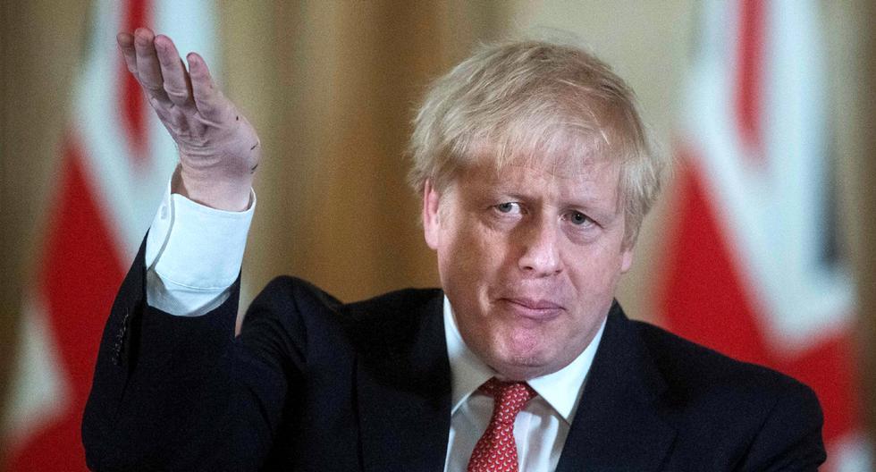 El primer ministro británico, Boris Johnson, se encuentra hospitalizado tras dar positivo al nuevo coronavirus COVID-19. (AFP/JULIAN SIMMONDS).