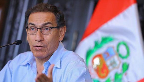 Vizcarra destacó que cuando planteó una lucha frontal contra la corrupción, quien primero ha salido a respaldar esas decisiones es la juventud. (Foto: GEC / Video: TV Perú)