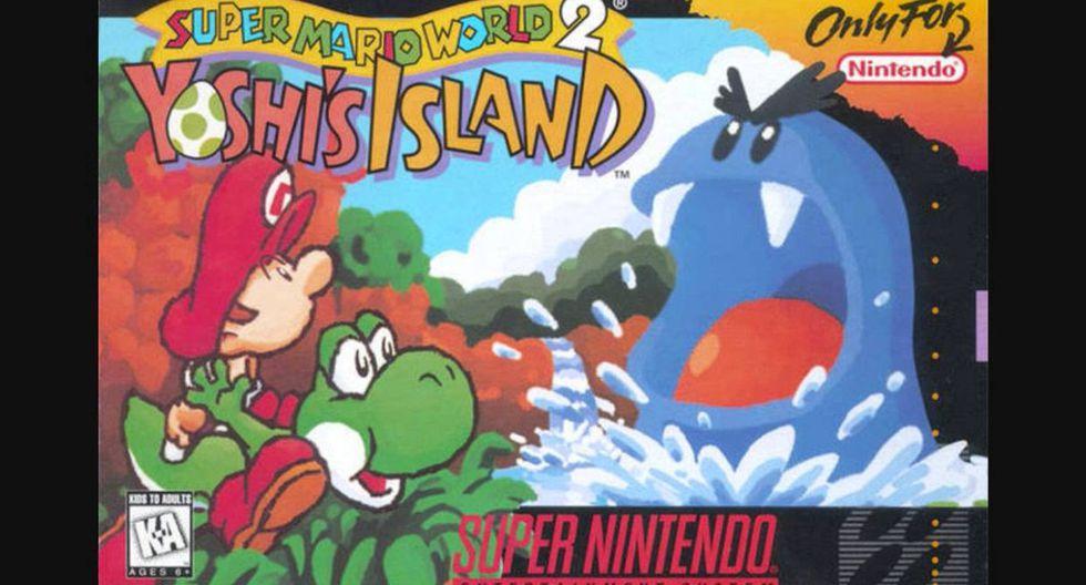 """""""Super Mario World 2: Yoshi's Island"""""""