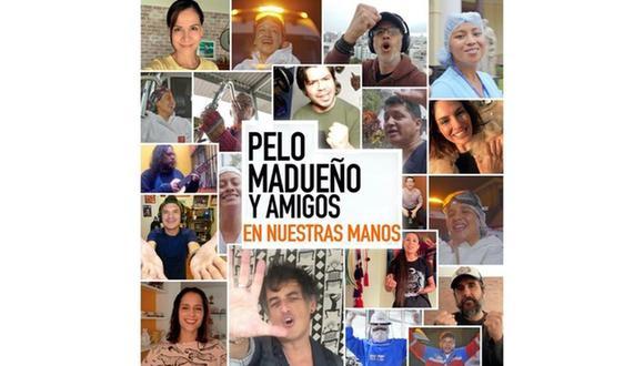 """Pelo Madueño y más artistas buscan crear conciencia sobre el COVID-19 con la canción """"En nuestras manos"""". (Foto: Captura de video)"""