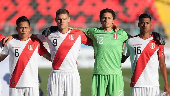 La selección peruana Sub 20 registró una victoria y tres caídas en su participación en el Sudamericano de la categoría. (Foto: FPF)
