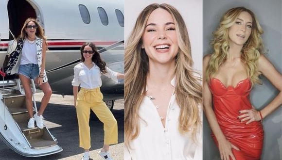 Geraldine Bazán y Camila Sodi inician sus lujosas vacaciones en avión privado. (Foto: @camilasodi_/@geraldinebazan)