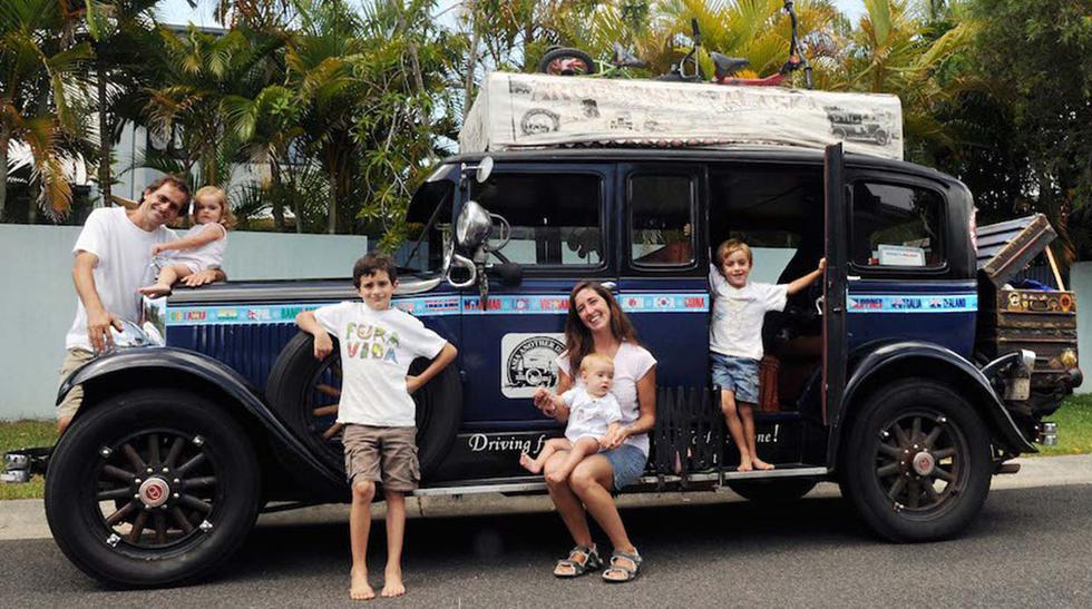 Conoce a los Zapp, la familia que viaja en auto por el mundo - 1