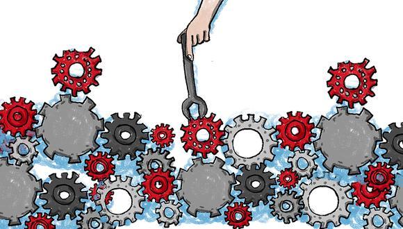 Economistas Diego Macera, Hugo Ñopo y Carlos Parodi explican en qué consiste nuestro modelo y defienden sus avances en los últimos años. (Ilustración: Giovanni Tazza)