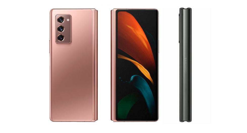 FOTO 1 DE 3   Samsung lanzó su segundo smartphone plegable capaz de convertirse en tablet. Conoce más sobre el Galaxy Z Fold 2  Foto: Samsung (Desliza a la izquierda para ver más fotos)