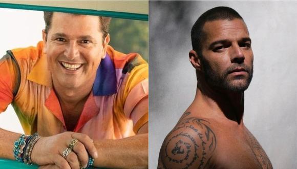 Carlos Vives y Ricky Martin se reúnen para un nuevo proyecto musical. (Foto: @carlosvives/@rickymartin)