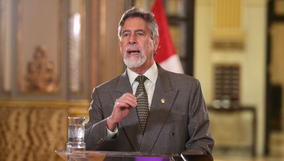 El presidente Francisco Sagasti reconoció la importancia de la SUNEDU en los últimos años. (Foto: Presidencia)