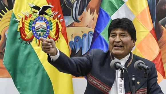 Evo Morales ganó las elecciones presidenciales en Bolivia por cuarta vez. La oposición ha denunciado fraude. (AFP / AIZAR RALDES).