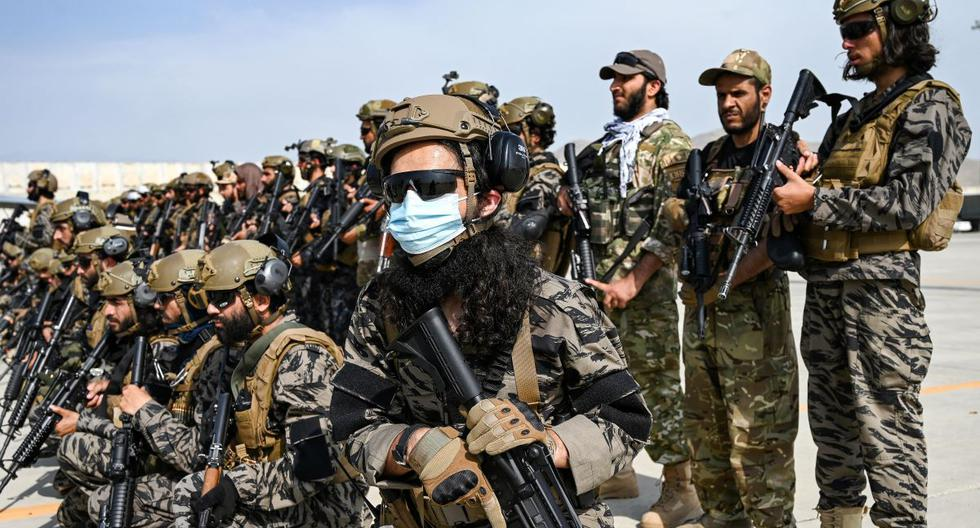 Taliban parade in triumph at Kabul airport after US withdrawal from Afghanistan