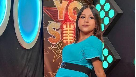 """Fiorella Caballero, imitadora de Laura Pausini y ganadora de """"Yo soy, nueva generación"""". (Foto: @fiorellacaballero_oficial)"""