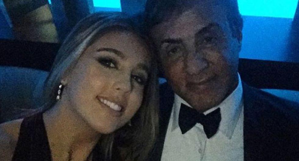 Sophia Stallone es hija del actor Sylvester Stallone y de la modelo Jennifer Flavin. La joven tiene 21 años de edad y ha sido fichada por una importante agencia de moda británica. (Foto: Instagram)
