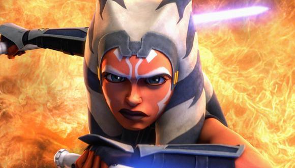 """Ahsoka Tano apareció anteriormente en 'Star Wars: The Clone Wars' y 'Star Wars Rebels', y será parte de la temporada 2 de """"The Mandalorian"""" (Foto: Disney+)"""