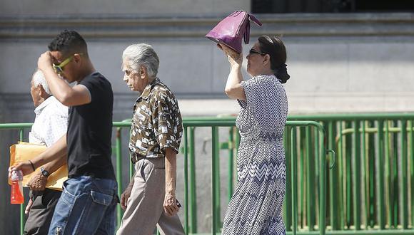 Lima ya presenta niveles altos de radiación, según Senamhi