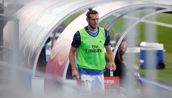 Gareth Bale ingresó por Rodrygo y jugó 29 minutos en la victoria sobre el Eibar en el retorno de LaLiga. (Foto: AFP)