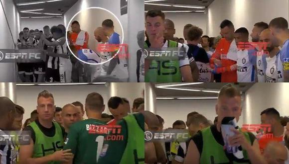 Maxi López y Mauro Icardi se reencontraron en el duelo entre Udinese e Inter de Milán, por la Serie A. (Foto: captura de YouTube)