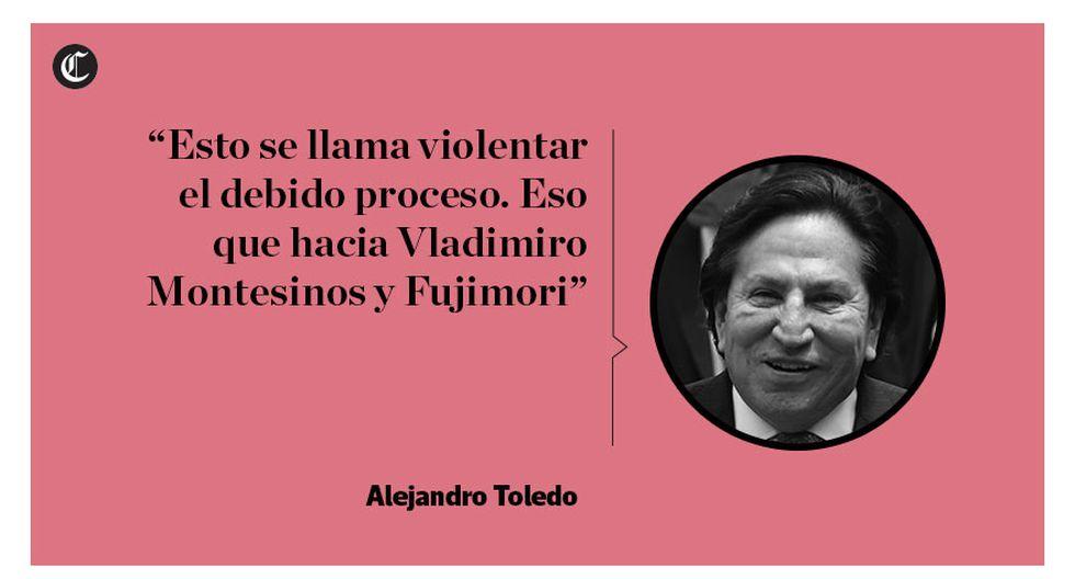 Toledo insiste en que no ha cometido ningún delito [FRASES] - 2
