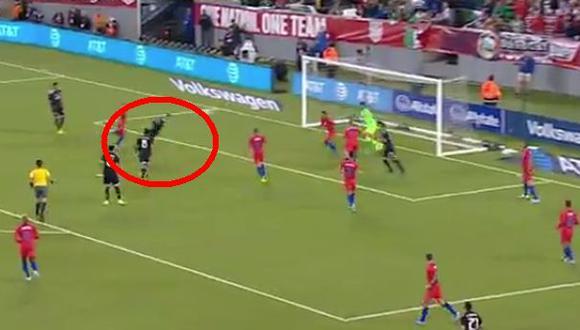México vs. Estados Unidos: 'Chicharito' volvió y anotó el 1-0 tras gran acción del 'Tecatito'   VIDEO. (Video: YouTube / Foto: Captura de pantalla)