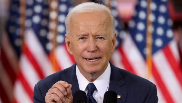 El presidente de los Estados Unidos, Joe Biden, habla sobre su plan de infraestructura durante un evento para promocionar el plan en el Centro de Capacitación Carpenters Pittsburgh en Pittsburgh, Pensilvania, EE. UU. (Foto: REUTERS / Jonathan Ernst / archivo).