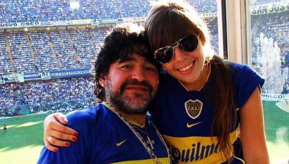 Dalma agradeció a Boca Juniors por el homenaje a Diego Maradona, su padre. (Foto: Instagram)