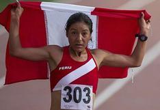 Inés Melchor ganó medalla de bronce en la Media Maratón de Guadalajara