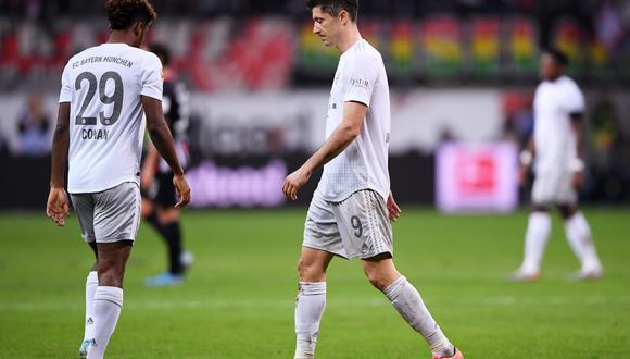 El Bayern Múnich no sufría una derrota tan dura en el campeonato alemán desde el 5-1 en contra que sufrió en Wolfsburgo en la campaña 2008-2009. (Foto: AFP)