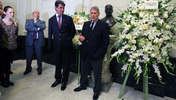 El Comercio rindió homenaje a fundadores en su aniversario 175