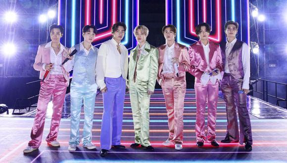 La banda coreana BTS prepara un nuevo evento virtual gratuito para sus fanáticos este 17 de abril. (Foto: Cortesía de ABC vía AFP)