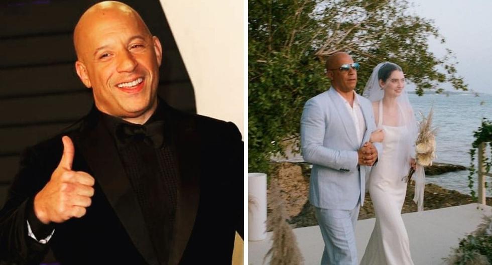 Paul Walker's daughter got married and Vin Diesel took her down the aisle