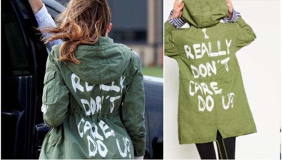 El presidente. Donald Trump, dijo que la elección de la chaqueta de Melania, que decía 'I Really Don't Care, Do You?' fue una broma hacia los medios de comunicación. Ella lució la prenda durante una visita en un centro de detención de inmigrantes en Texas.