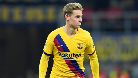 Frenkie de Jong llegó al Barcelona proveniente del Ajax. (Foto: AFP)