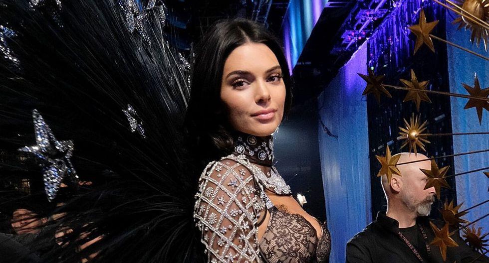 Kendall Jenner suele llamar la atención  de sus seguidores con cada una de sus prendas y esta vez no fue la excepción. (Foto: AFP)