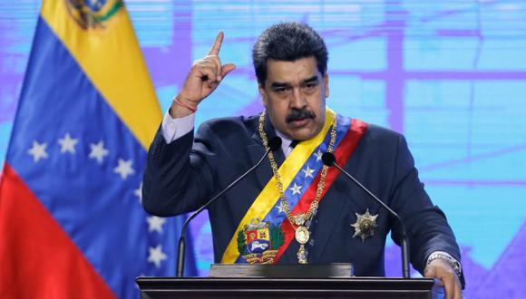 Nicolás Maduro durante una ceremonia de apertura del nuevo período judicial en Caracas, Venezuela. (Foto: REUTERS / Manaure Quintero).