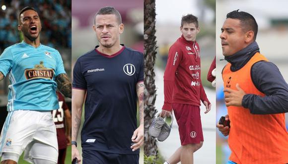 Herrera, Millán, Cantoro y Alfredo cuentan con posibilidades de nacionalizarse peruano y no ocupar el cupo de extranjero en la Liga 1, o ser convocados por Gareca en la selección.