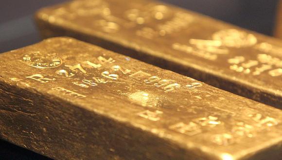 Los futuros del oro en Estados Unidos cedían un 0,5% a US$1.855,90 la onza. (Foto: AFP)