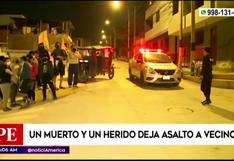 VES: hombre muere de un disparo por defender a su vecino de un asalto