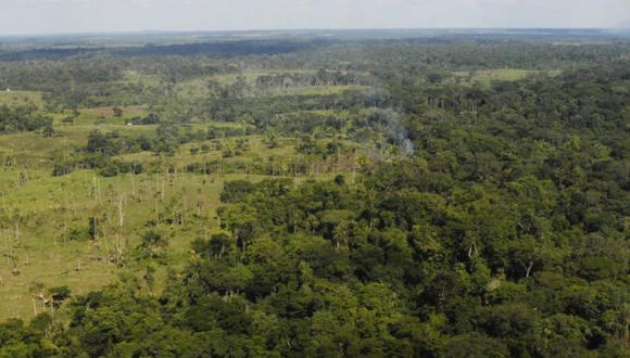 Zona de fragmentación de ecosistemas en la Selva Lacandona, México. Foto: Cortesía Natura.