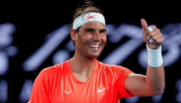 Rafael Nadal clasificó a cuartos de final del Australian Open | Foto: @AustralianOpen