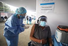 COVID-19: Hoy inicia la vacunación para personas que requieren hemodiálisis