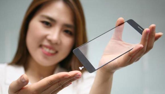 LG quiere que los lectores de huellas digitales sean invisibles