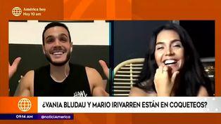Vania Bludau no descarta un posible romance con Mario Irivarren