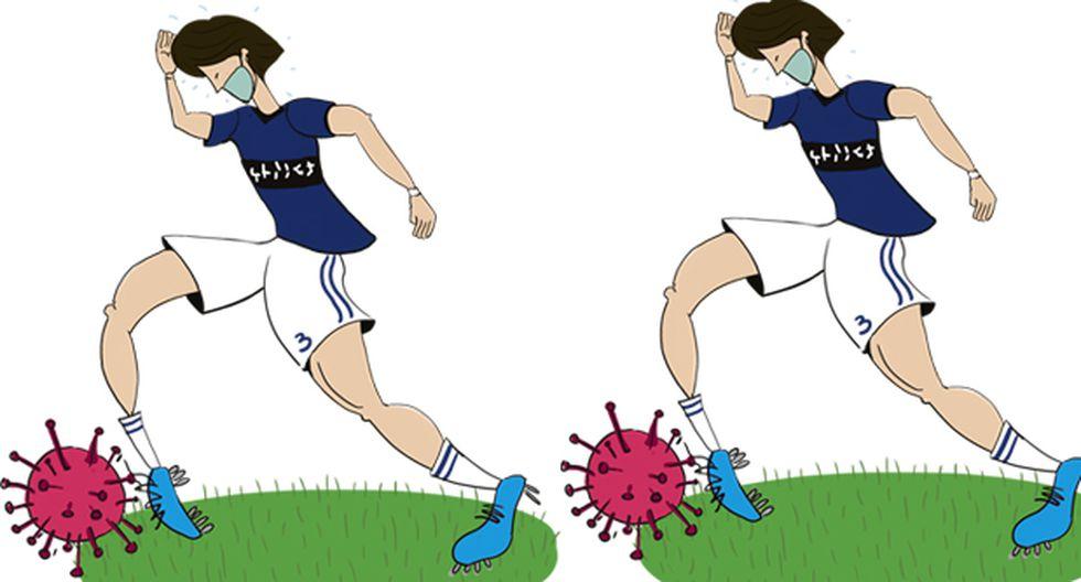 La Superliga China venía en caída y con el coronavirus se complicó más su situación. (Ilustración: Giovanni Tazza)