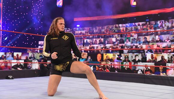 Riddle enfrentará este domingo a Bobby Lashley y Keith Lee en una triple amenaza por el Título de Estados Unidos | Foto: WWE