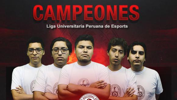 La Universidad Nacional de Ingeniería (UNI) venció a cuatro casas de estudios en la primera Liga Universitaria Peruana de Esports. (Foto: Ndree)