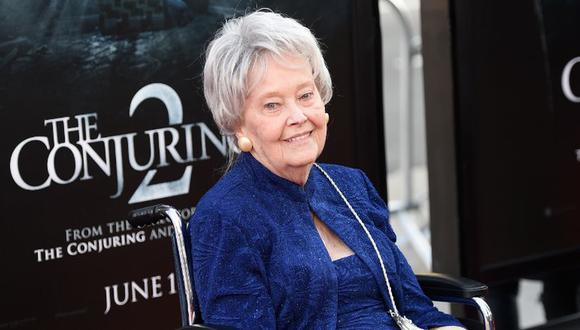 Lorraine Warren murió a los 92 años. (Foto: AFP)