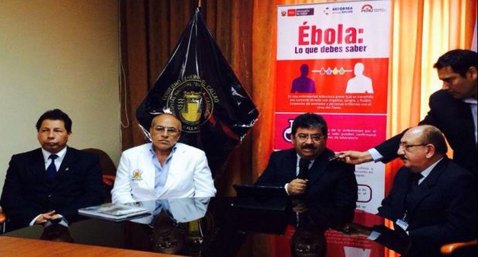 """Minsa sobre guineano internado: """"No es sospechoso de ébola"""""""