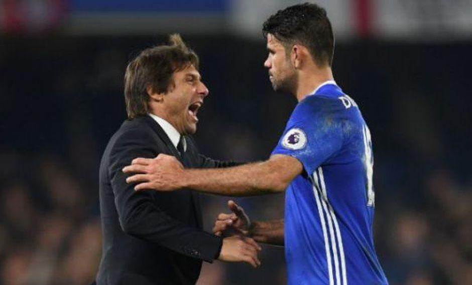 Diego Costa se iría de Chelsea tras discusión con Antonio Conte