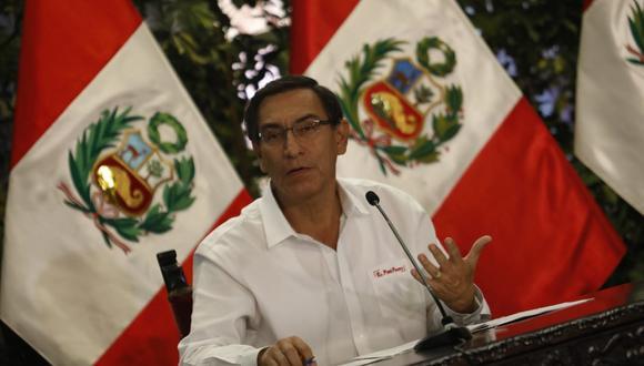 Presidente Vizcarra señaló que la pandemia del COVID-19 en el país está controlada, pero aún no ha sido derrotada. (Foto: Presidencia del Perú)