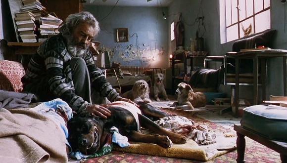 Emilio Echevarría interpreta en la película a El Chivo, un asesino a sueldo con un misterioso pasado.