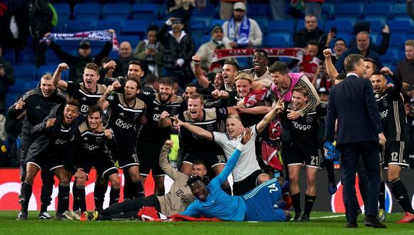 Ajax enfrentará este miércoles (2 p.m.) al Tottenham en la semifinal de vuelta de la Champions League. (Foto: AP)